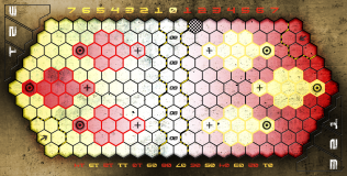 Concrete Pitch (Red/Yellow)
