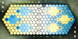 Concrete Pitch (Blue/Yellow)