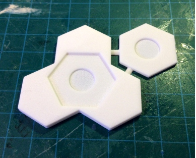 3D print of an earlier design I forgot to put ball magnet holes in.