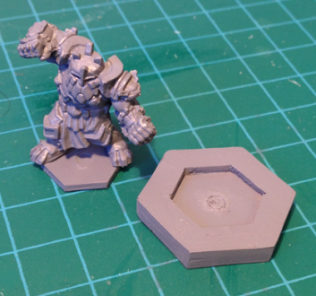 Early hex insert prototype