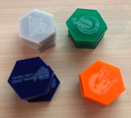 DreadBall Team Tokens