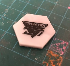 Coloured Trontek 29ers token.