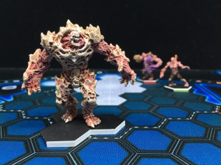"You've helped the RC play test ""new"" DreadBall Giants. Thanks!"